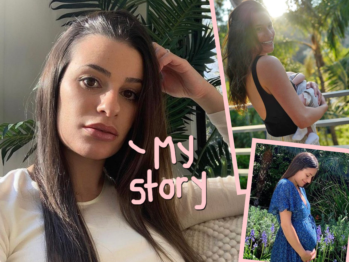 Lea Michele Shares Story Of Her 'Very Intense, Very Scary Pregnancy': 'It Was The Lowest I've Been In My Entire Life'