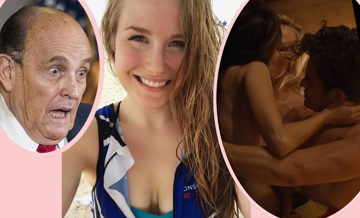 Rudy Giuliani's Daughter Caroline Only Has Threesomes & Wrote NSFW Essay About It!