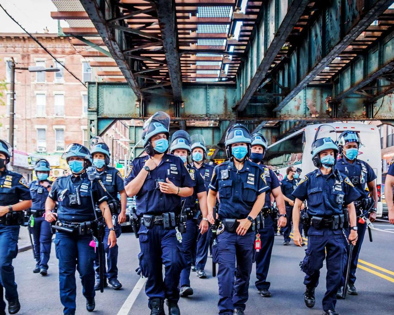NYPD police are no longer protected in public courts after city council passed police reform law