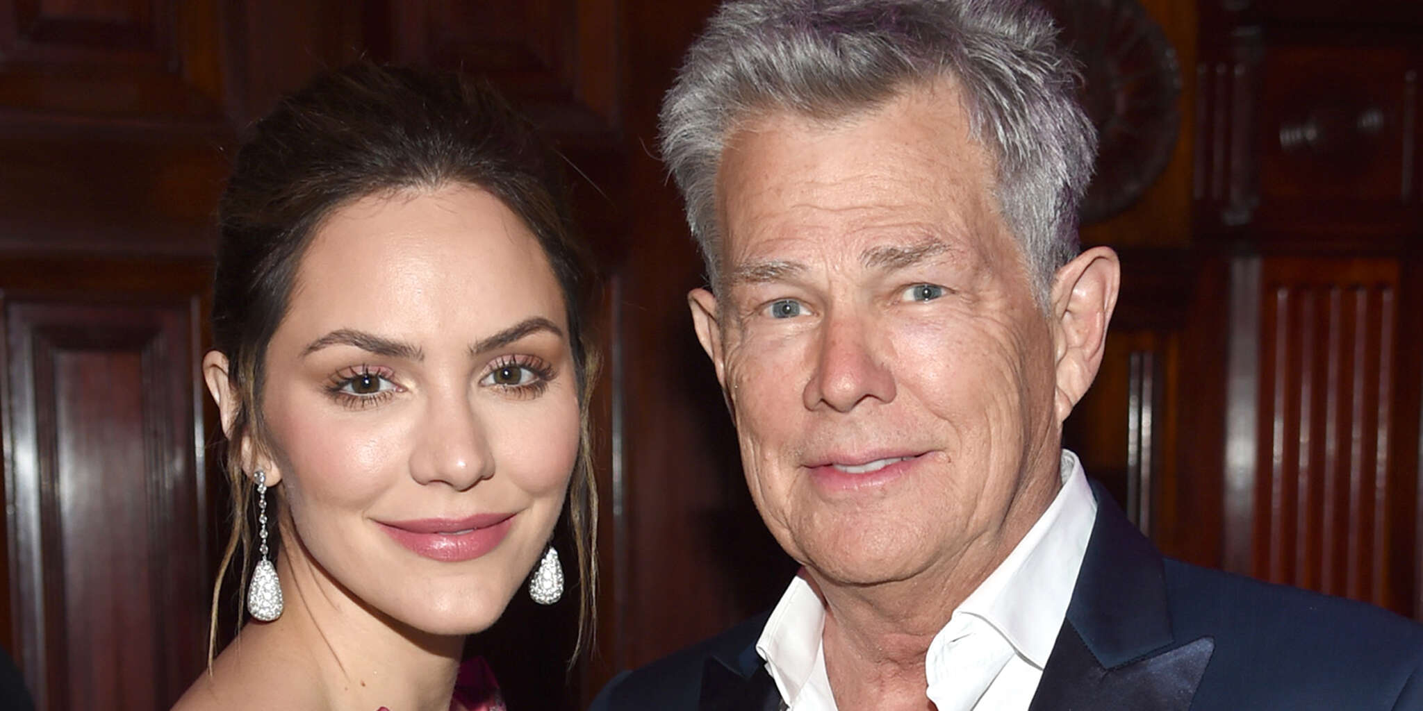 Katharine McPhee Posts First Pic Of Her And David Foster's Newborn Baby!
