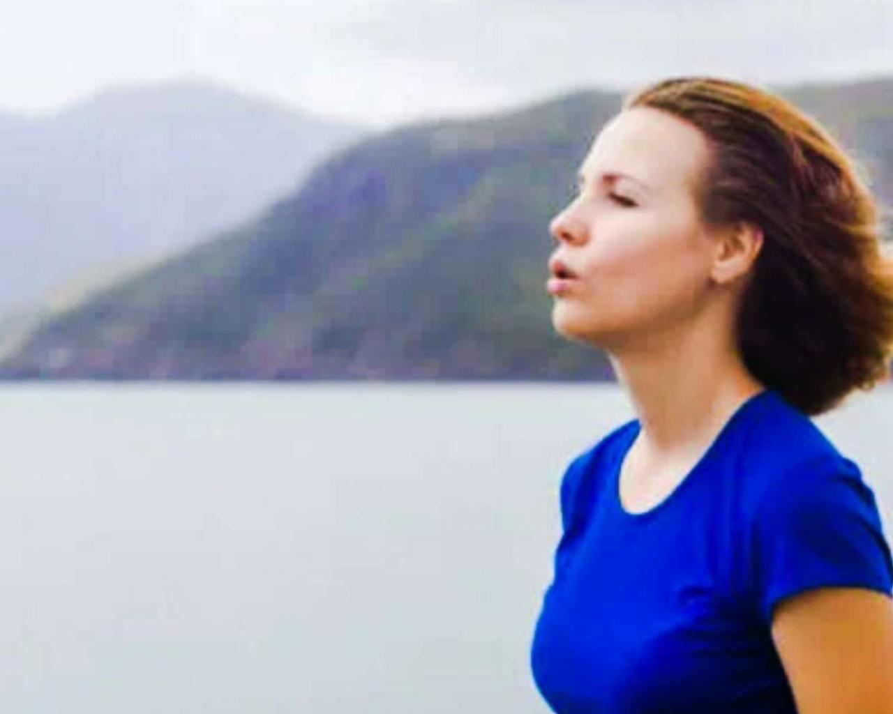 Why is it difficult to breathe when we do exercise?