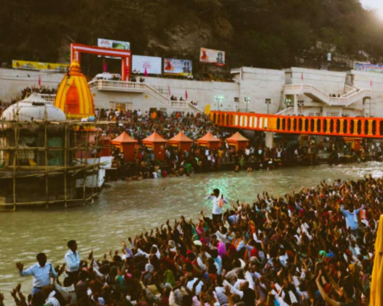 India: 150 million pilgrims gather for Kumbh Mela. And this is in the midst of a  covid epidemic.