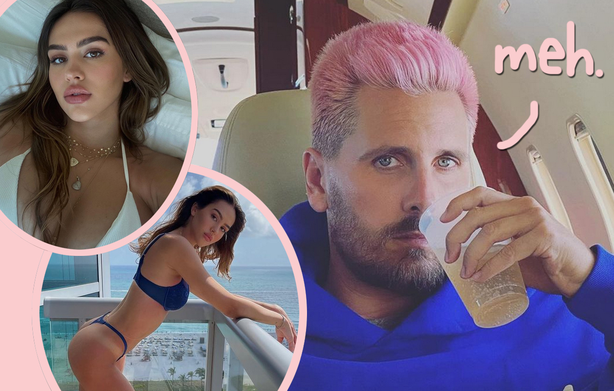 Scott Disick Doesn't Follow Amelia Hamlin On Instagram -- And Fans Have OPINIONS!