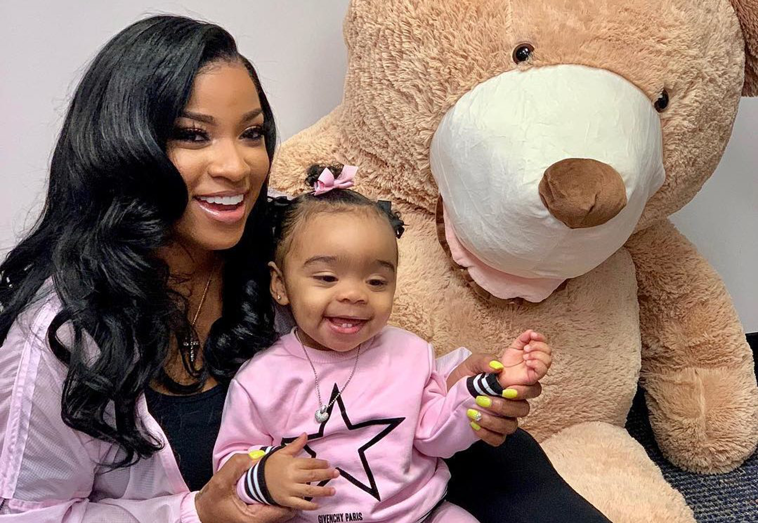 Toya Johnson Enjoys A Weekend Getaway With Reign Rushing – See The Photos