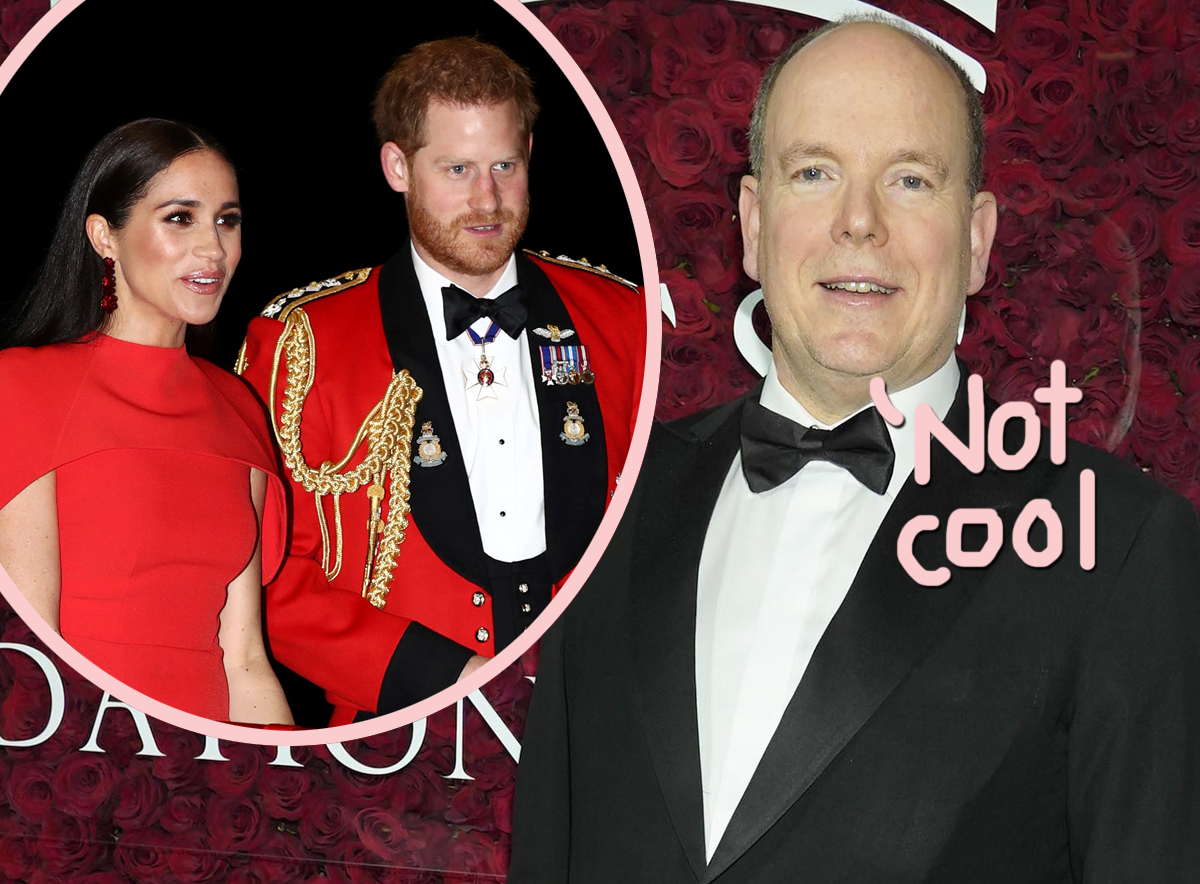 Prince Albert Of Monaco Was Bothered By Prince Harry & Meghan Markle's Tell All!