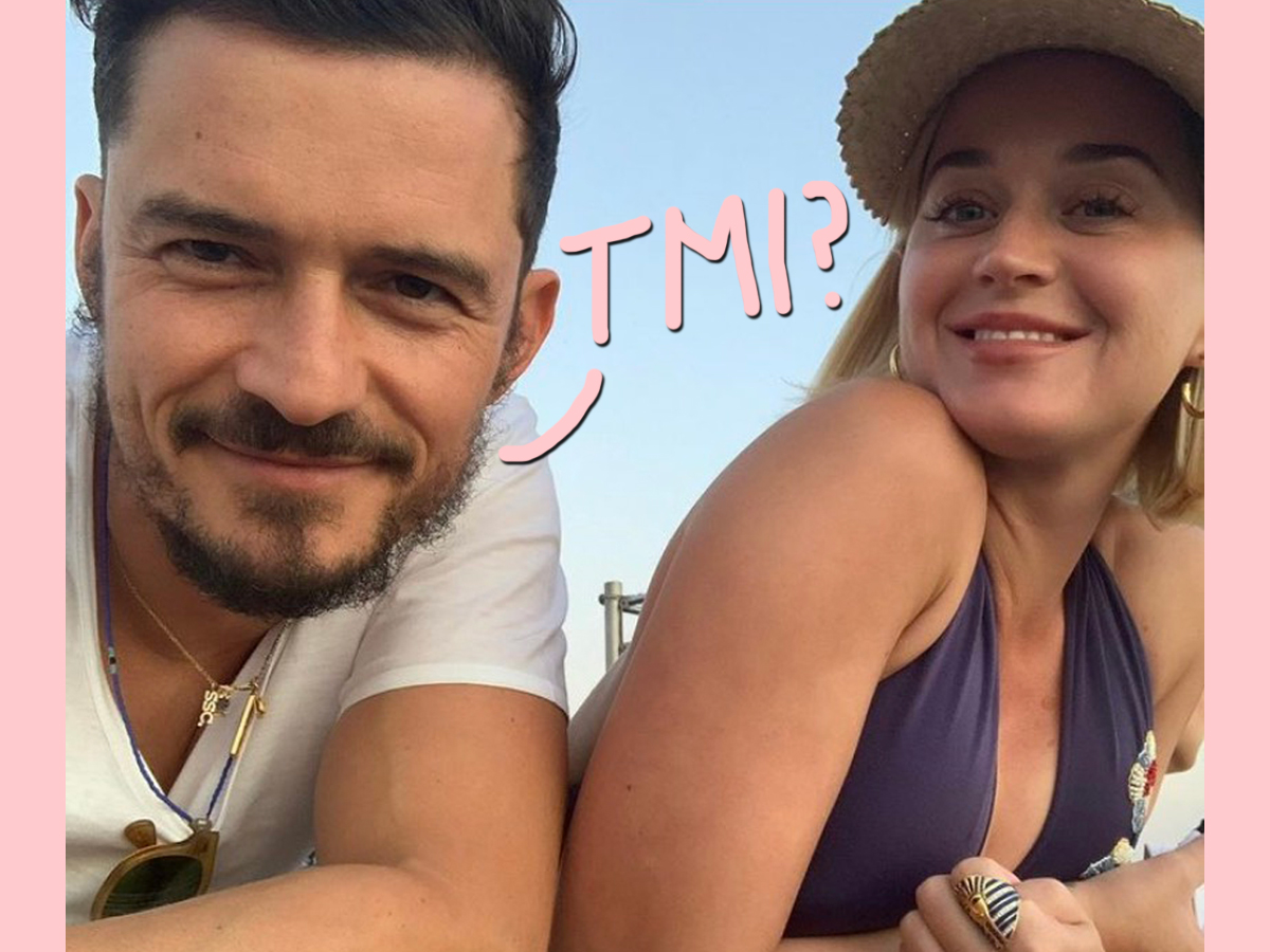 Orlando Bloom Dishes On His Lack Of A S*x Life With Fiancée Katy Perry!
