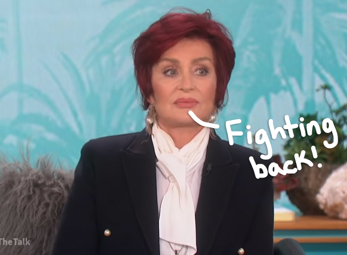 Sharon Osbourne Plans To Sue CBS After Leaving The Talk Due To Her Racism Controversy!
