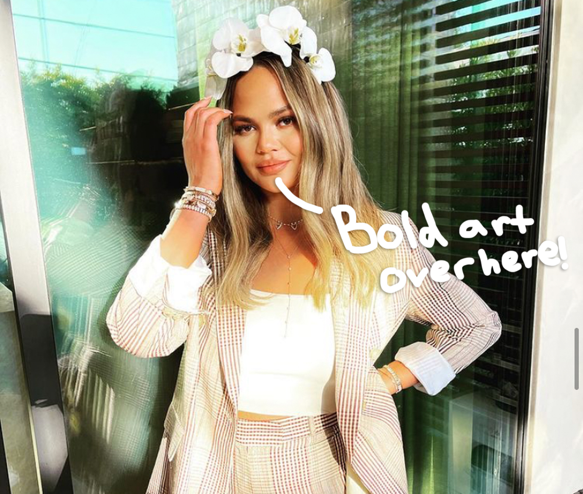 Chrissy Teigen Shows Off New Finger Tattoos -- Check Out The Ink!