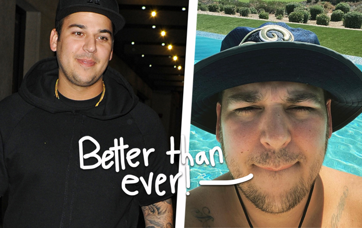 Rob Kardashian 'In A Really Great Place' As He Commits To Healthier Lifestyle!