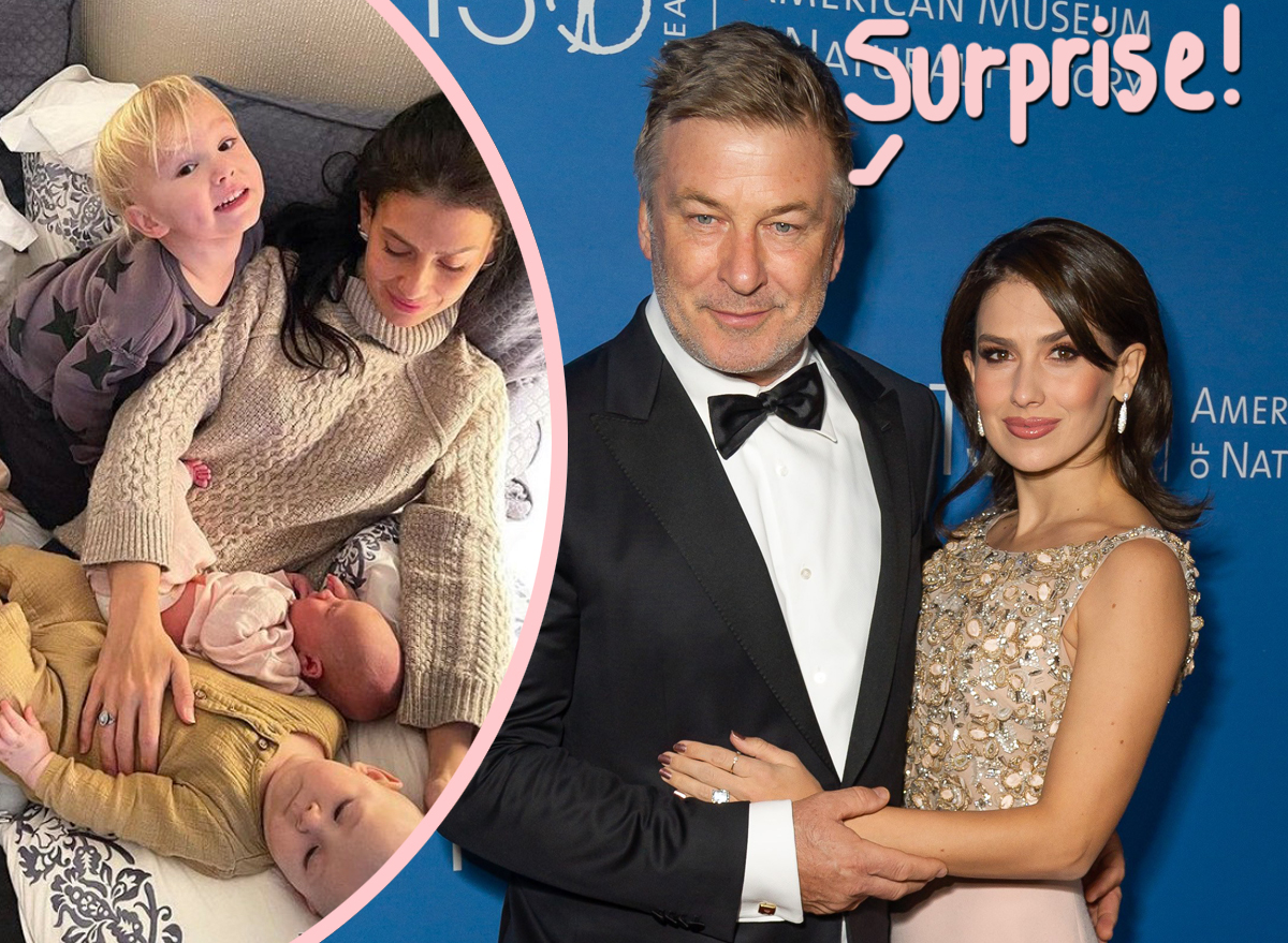 Alec & Hilaria Baldwin Welcome 6th Child Together -- Just 6 Months After She Gave Birth!
