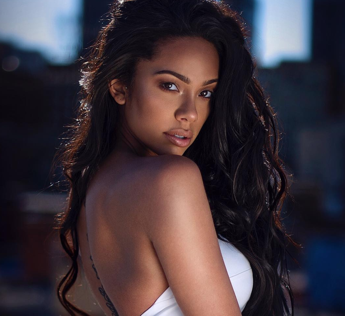 Erica Mena's Daughter Has A Version Of Her Mom's Wedding Dress – See It Here!