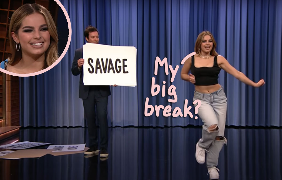 Twitter Is NOT Happy With Addison Rae & Jimmy Fallon Over Their TikTok Copycat Dance Segment!