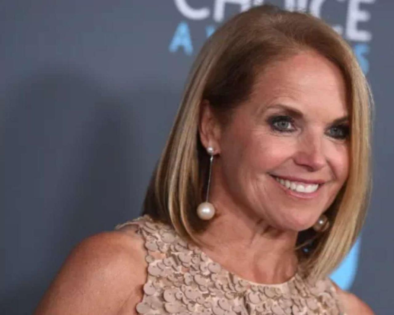 Katie Couric is controversial without makeup: how to look beautiful and embrace age.