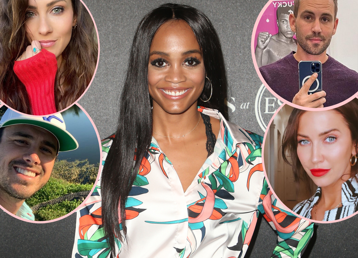 Bachelor Franchise Stars Shows Rachel Lindsay More Support After She Quits Instagram Due To Harassment