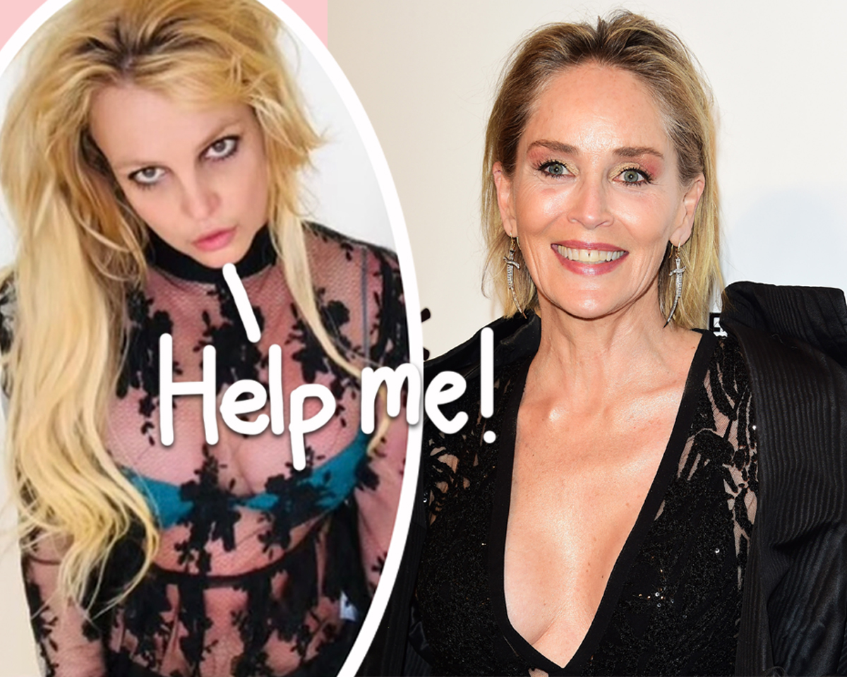 Britney Spears Reached Out To Sharon Stone For Help Around The Time Of Her 2007 Breakdown  -- Details On The Heartbreaking Letter HERE
