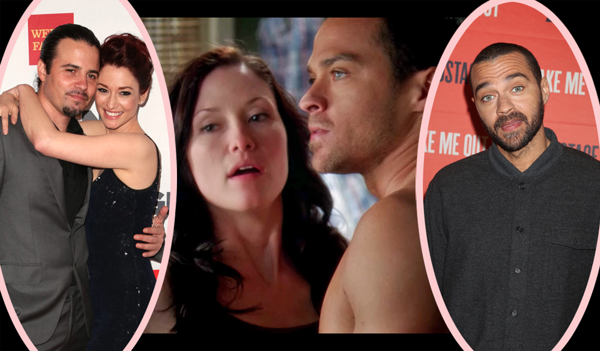 Grey's Anatomy DRAMA! Chyler Leigh's Husband Claims Jesse Williams Took Advantage Of His Wife During Mental Breakdown!
