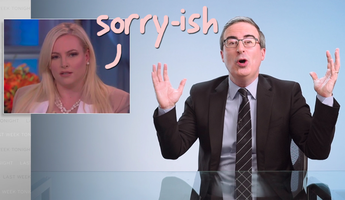 Meghan McCain Apologizes After John Oliver DRAGS Her For Supporting Trump's Racist CHY-NA VIRUS Talk