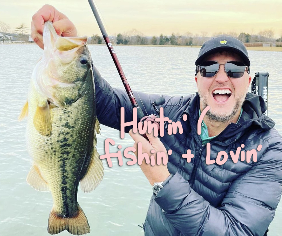 Luke Bryan Gets Fish Hook Stuck THROUGH His Finger: 'This Is Gonna Leave A Mark'