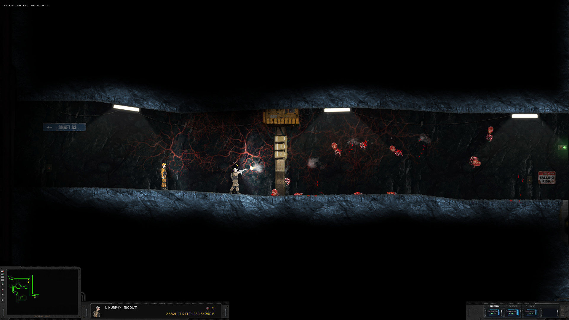 Hidden Deep is a physics horror game inspired by The Thing