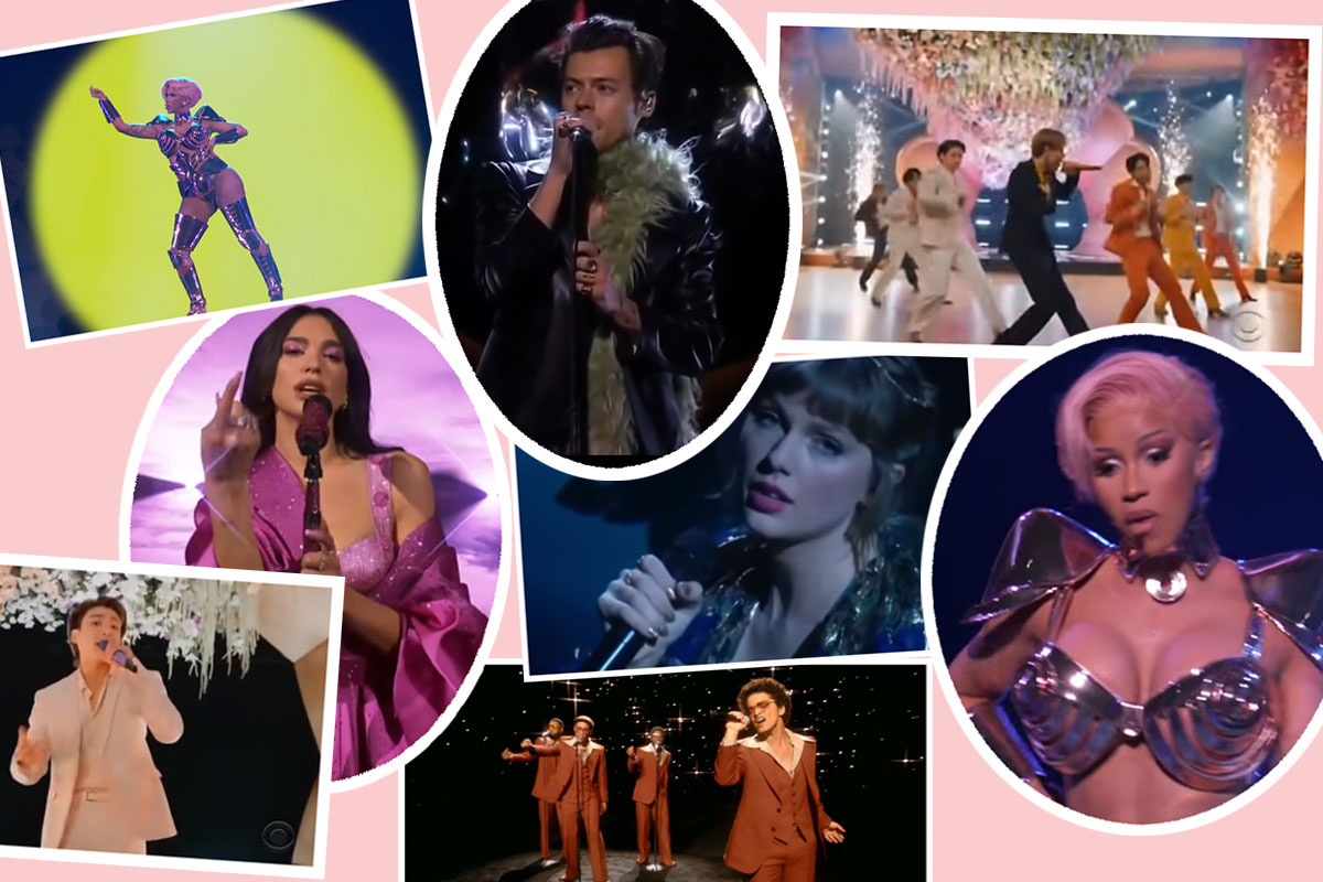 Grammys 2021: Taylor Swift, Harry Styles, Megan Thee Stallion, Dua Lipa, & MORE Stellar Performances!