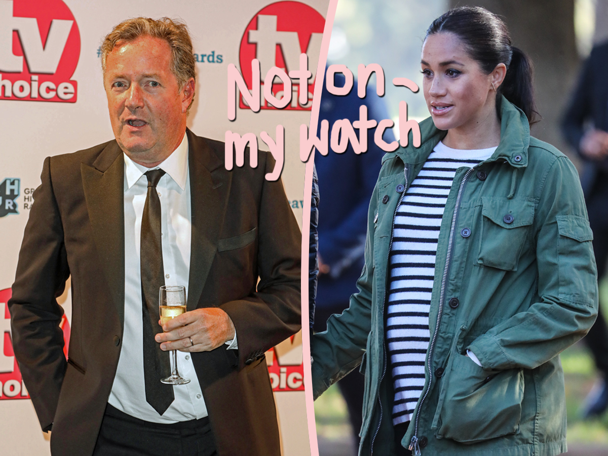 Meghan Markle Made Official Complaint About Piers Morgan's Remarks — And Yes, He's Still Bashing Her Following His GMB Exit!!