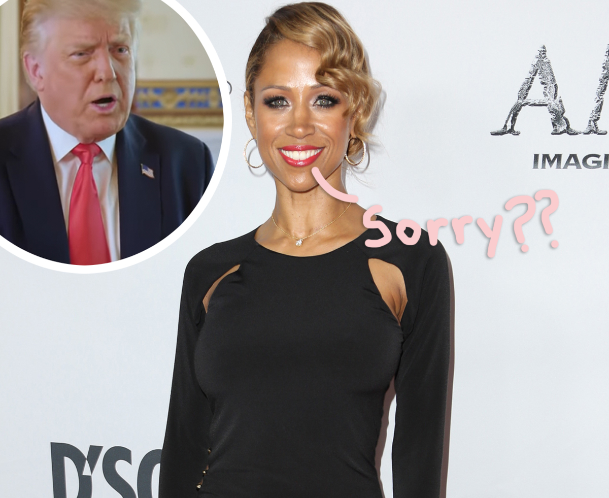 Twitter Can't Stop Laughing At Stacey Dash's Apology For Her Donald Trump Support & Controversial Remarks
