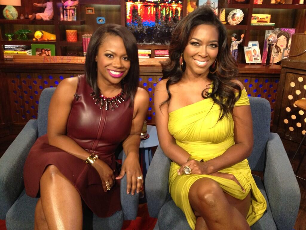 Kandi Burruss Invites Kenya Moore On Her Show, 'Speak On It'