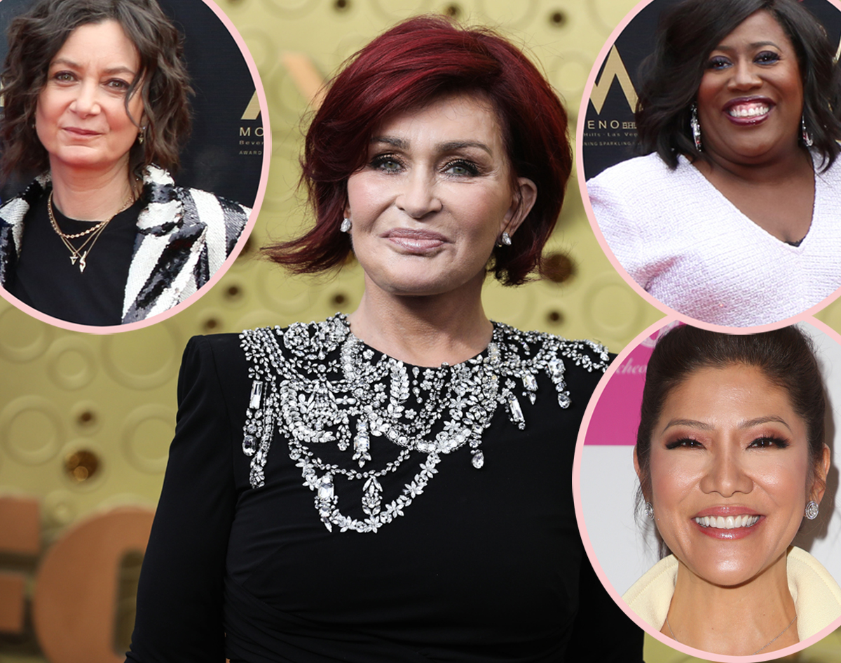 Sharon Osbourne Speaks Out — Denies New Allegations Of Racism & Homophobia, Unsure Of Her Future With The Talk!