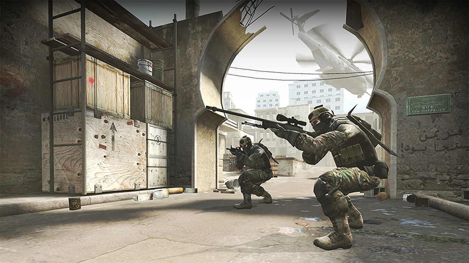 Counter-Strike: Global Offensive's Steam store page was briefly deleted