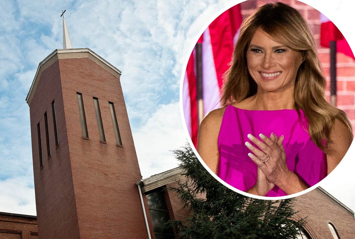 Sexist Pastor On Leave After Encouraging Women To Look Like 'Epic Trophy Wife' Melania Trump