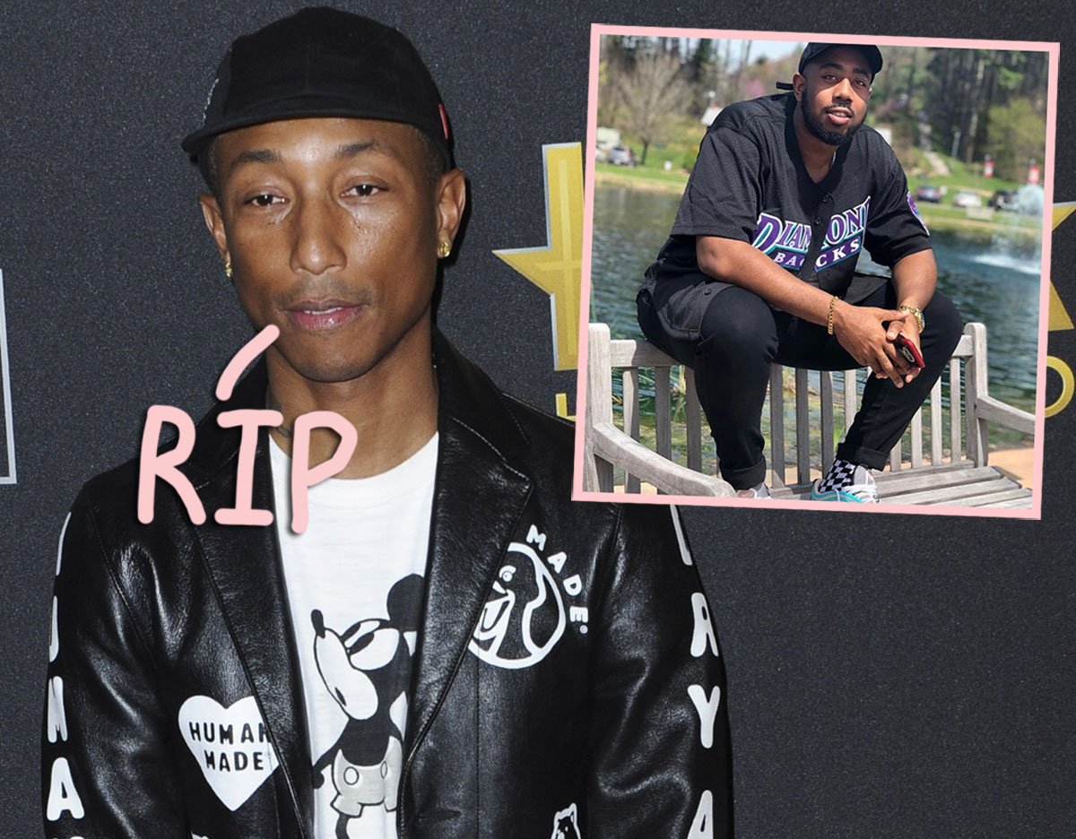 Pharrell Williams Mourns Beloved Cousin Shot & Killed By Police In Virginia Beach
