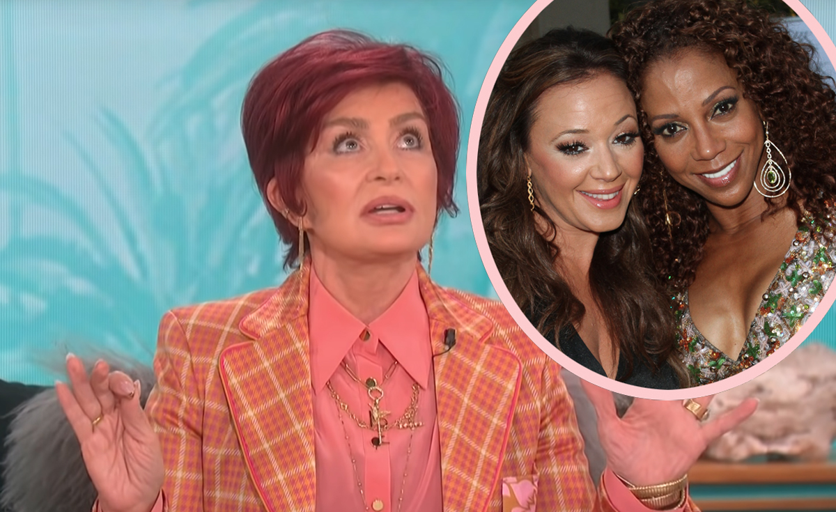 Hold up, Did Sharon Osbourne Get The Talk Co-Host Holly Robinson Peete FIRED Because She Was 'Too Ghetto'?!