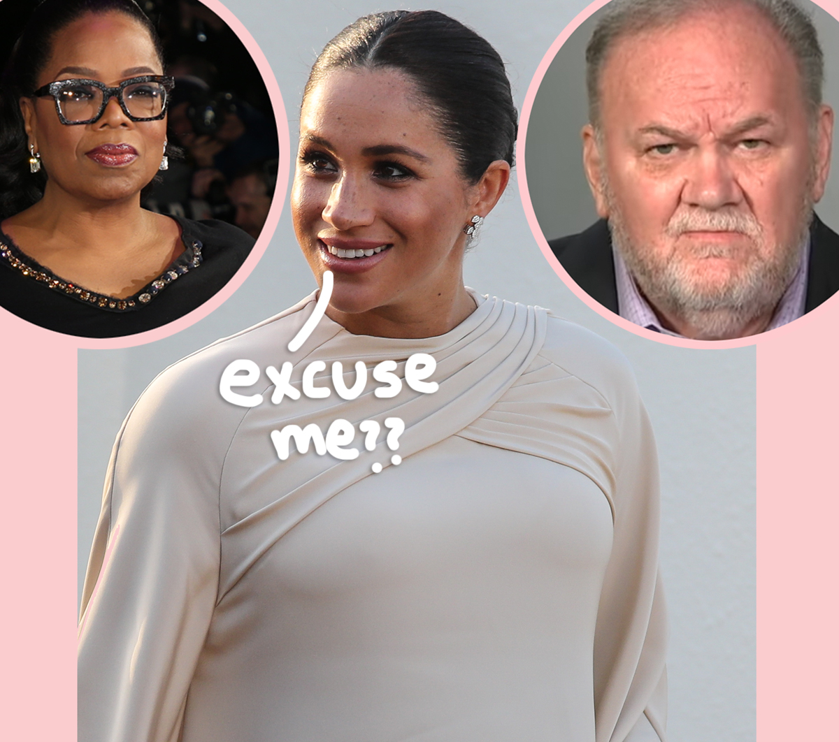 Meghan Markle's Dad Wants His Own Tell-All Interview With Oprah Winfrey!