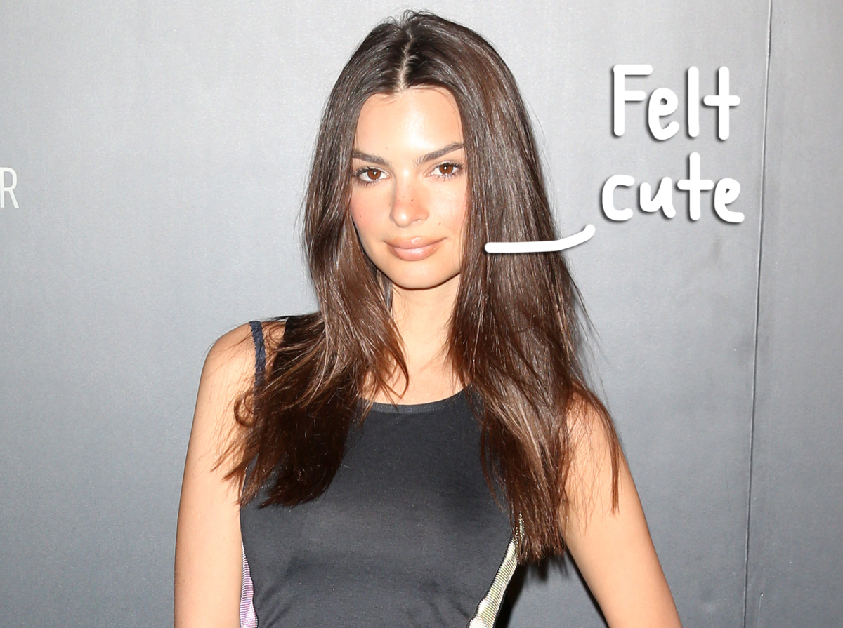 Emily Ratajkowski Stuns With Intimate Nude Maternity Photoshoot -- Look!