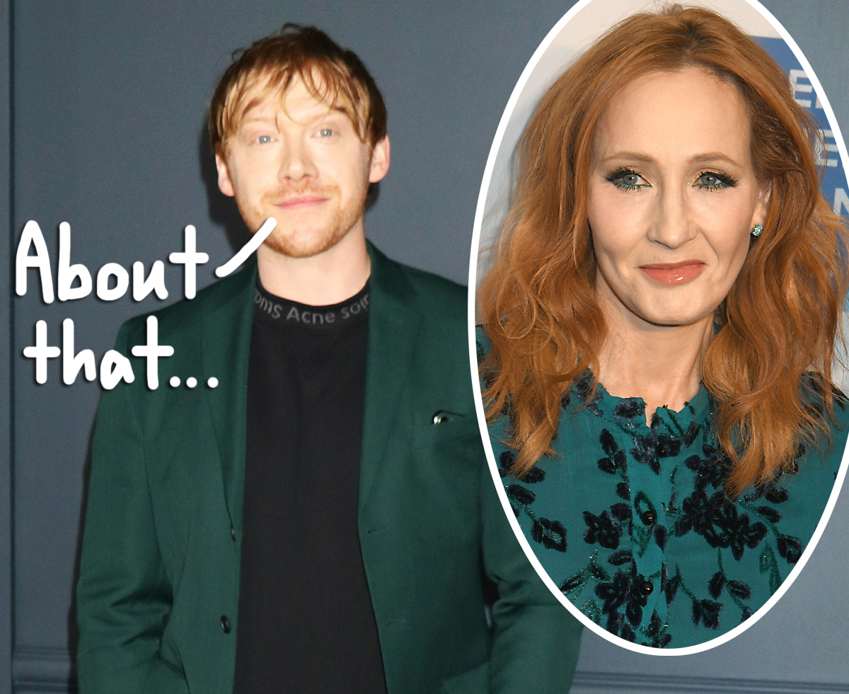 Rupert Grint Explains Why He Spoke Out Against J.K. Rowling For Her Transphobic Comments