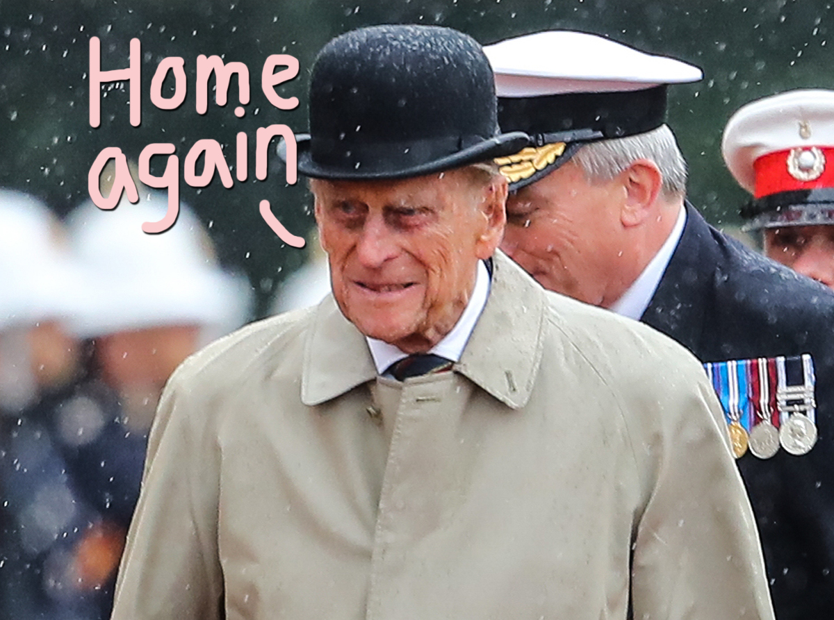 Prince Philip Is Out Of The Hospital After Month-Long Stay