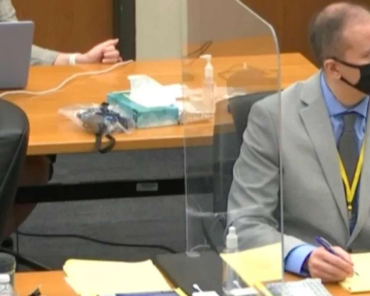 Witness reports seeing George Floyd 'slowly disappear' as testimony begins in Derek Chauvin's murder trial.