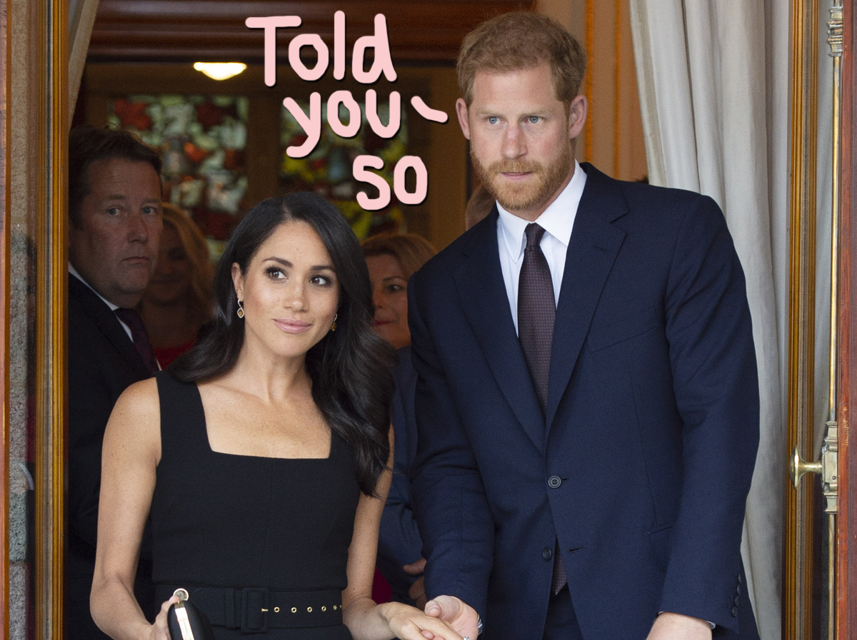 Prince Harry & Meghan Markle Denounce UK Tabloids' 'Predatory Practices' After Private Investigator Admits To Illegally Selling Info!