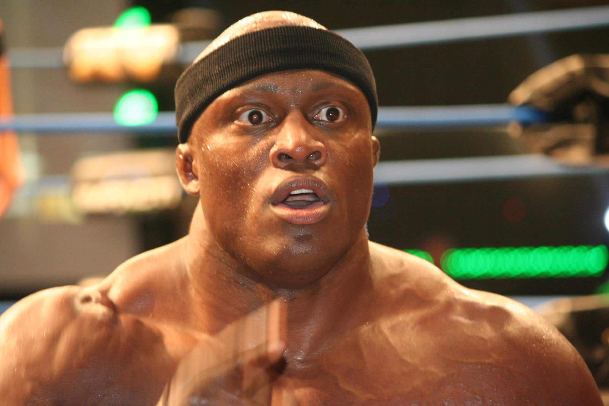 Bobby Lashley Wins the WWE Championship Belt, Defeats The Mizz
