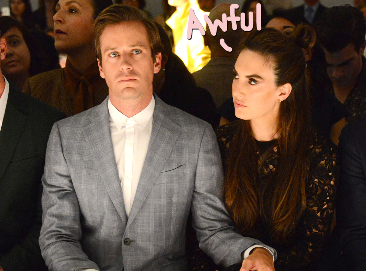 Armie Hammer's Ex Elizabeth Chambers 'Horrified' By Most Recent Allegations