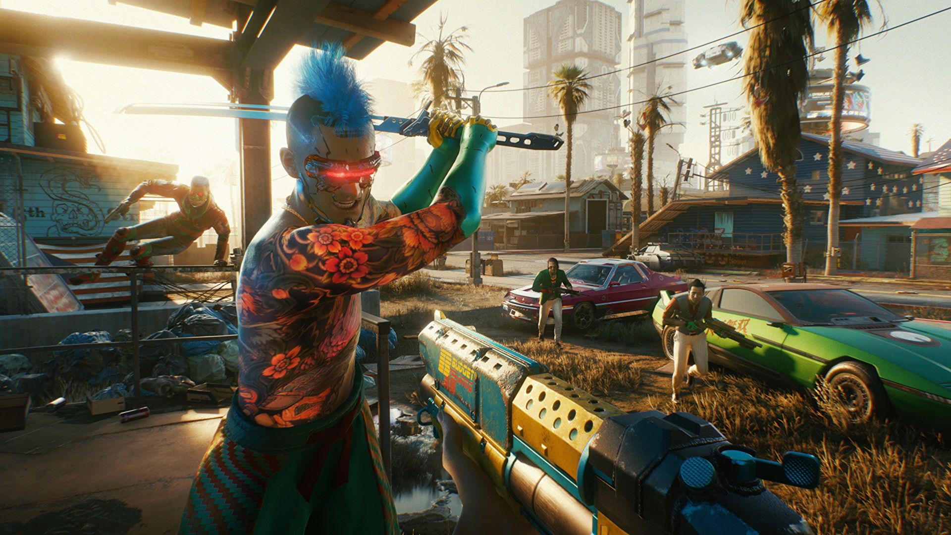 Cyberpunk 2077 patch 1.2 will stop police from appearing behind you