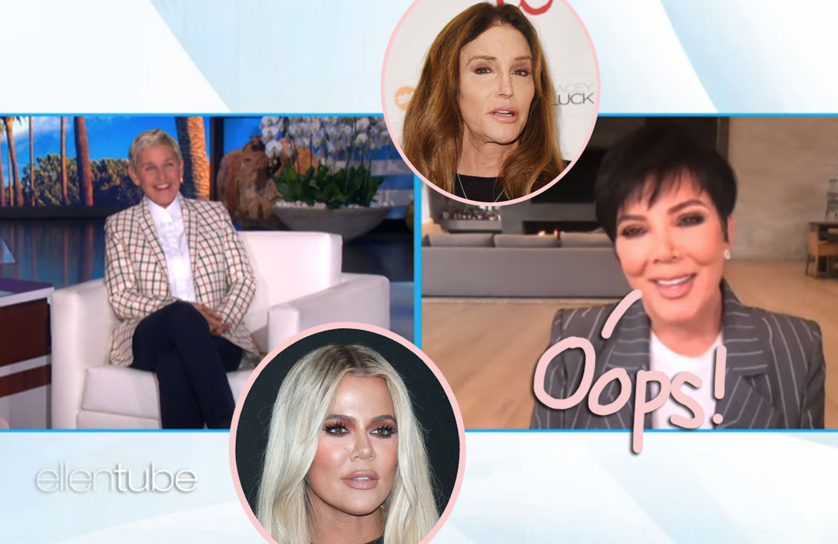 Kris Jenner Recalls The Time She & Caitlyn Once Had S*x While Khloé Was Under The Bed! OMG!