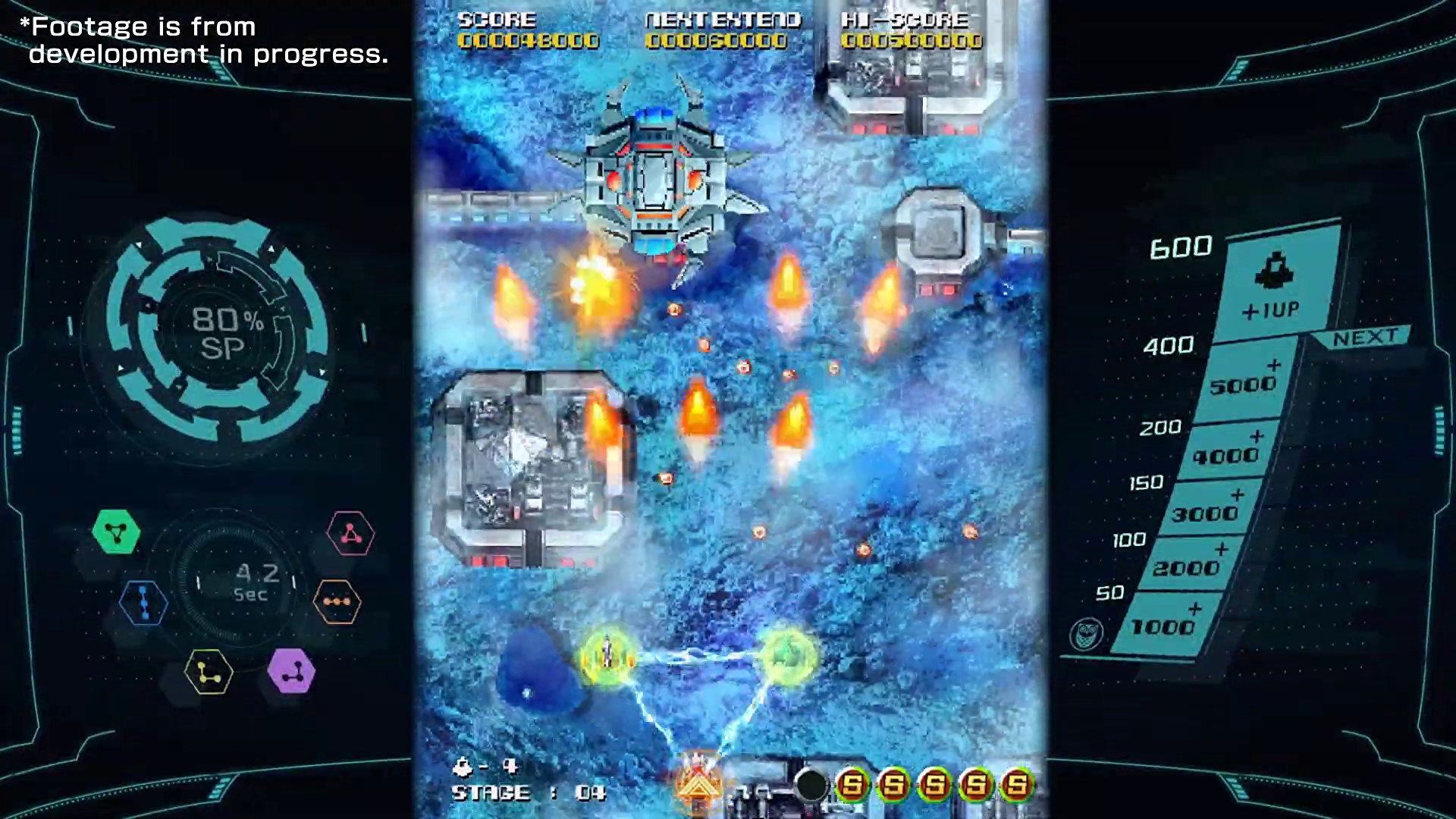 Platinum announce arcade shmup Sol Cresta, maybe not as a joke this time