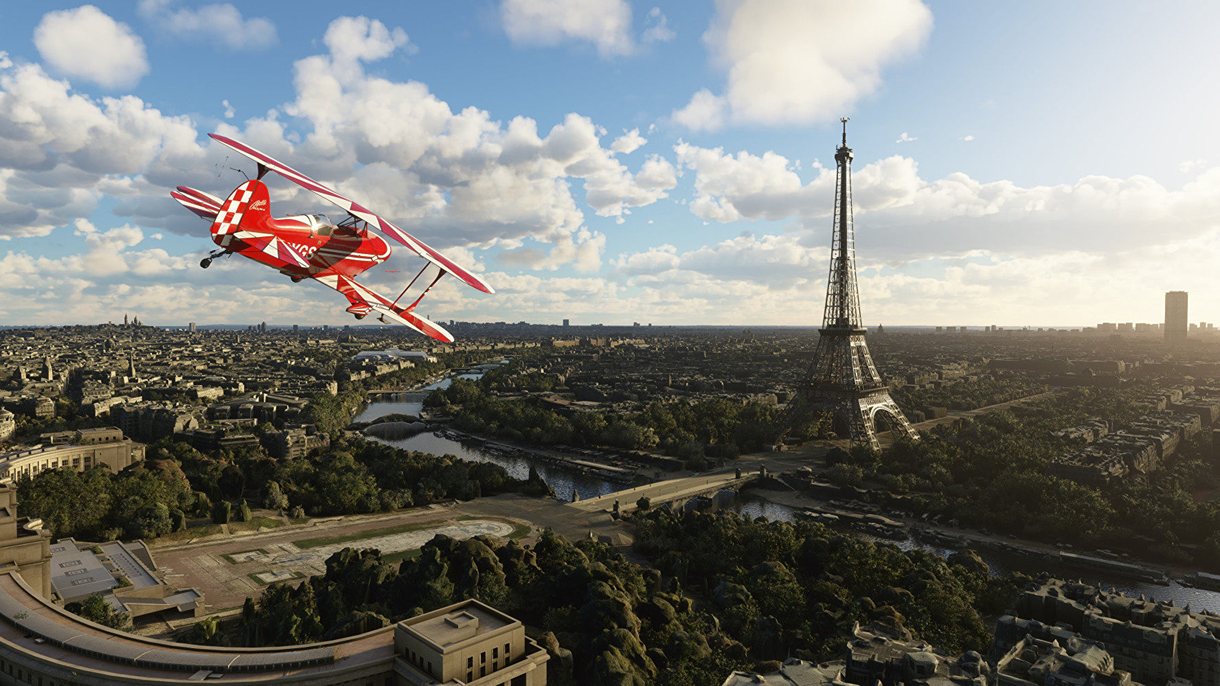 Microsoft Flight Simulator's world update 4 polishes France and Benelux