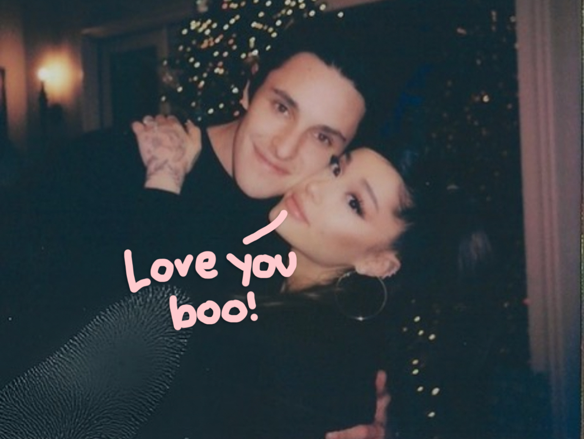 Ariana Grande Gushes Over Fiancé Dalton Gomez In New Sweet Photos!