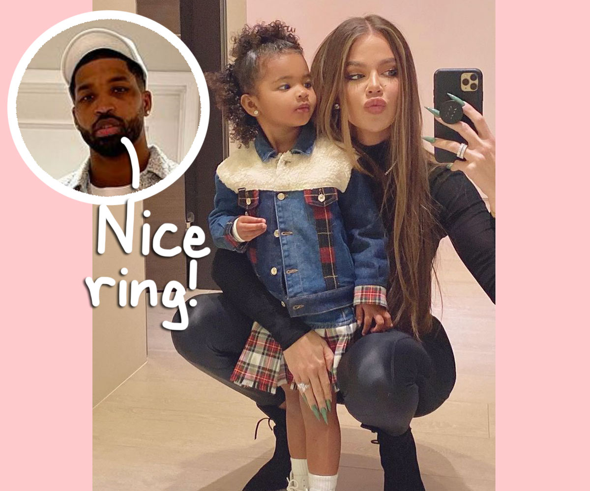 Tristan Thompson Teases Fans With Eye-Catching Comment On Khloé Kardashian's Diamond Ring Pic!