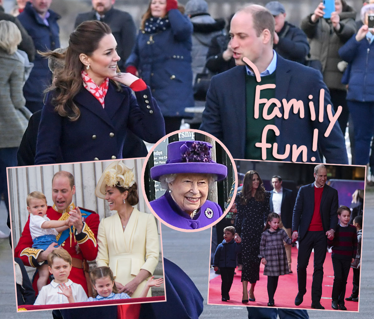 How Prince William & Kate Middleton's Cute Kids Celebrated Their Easter Holiday!