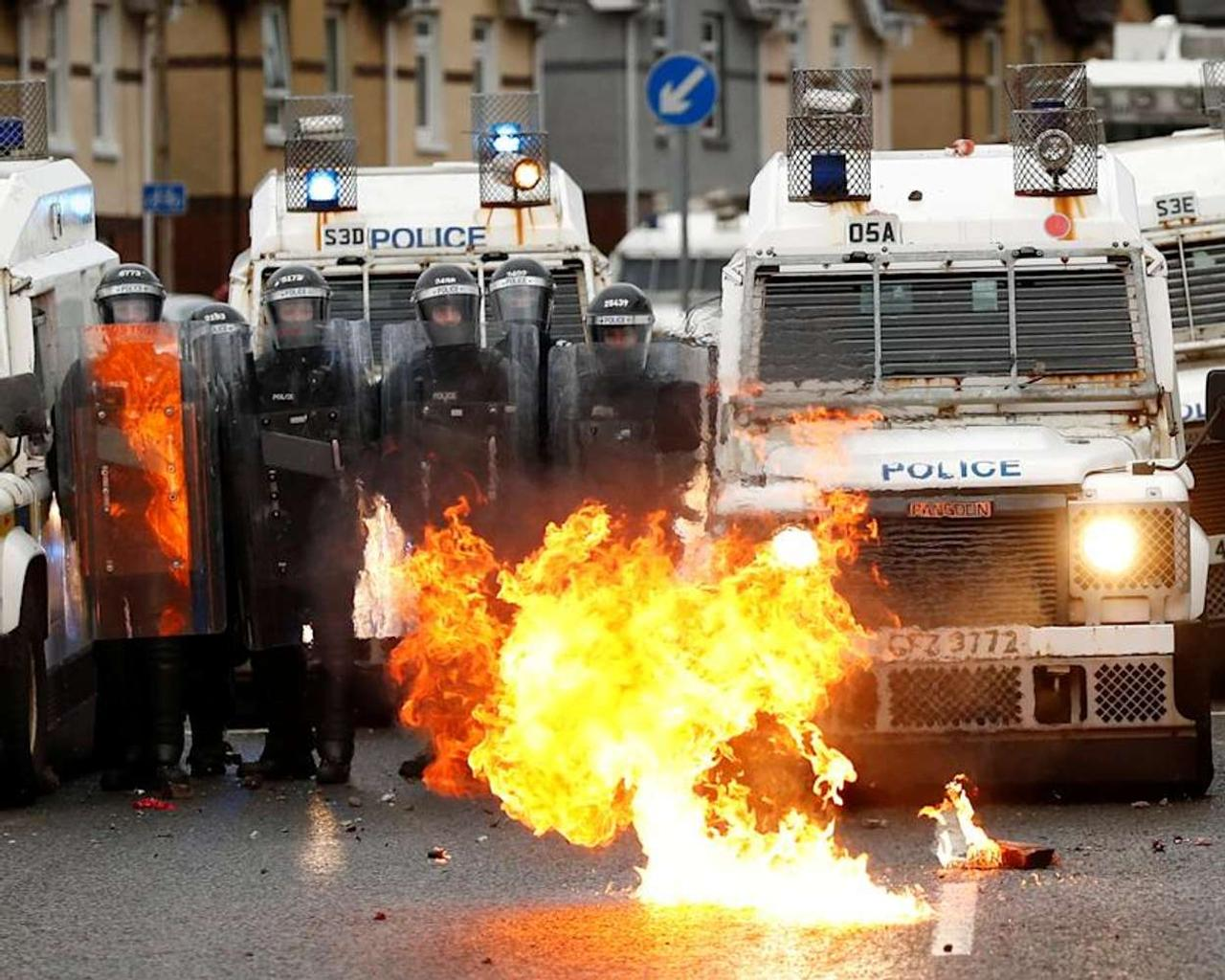Northern Ireland is experiencing a wave of violent protests, bringing back painful memories of 'the troubles.'