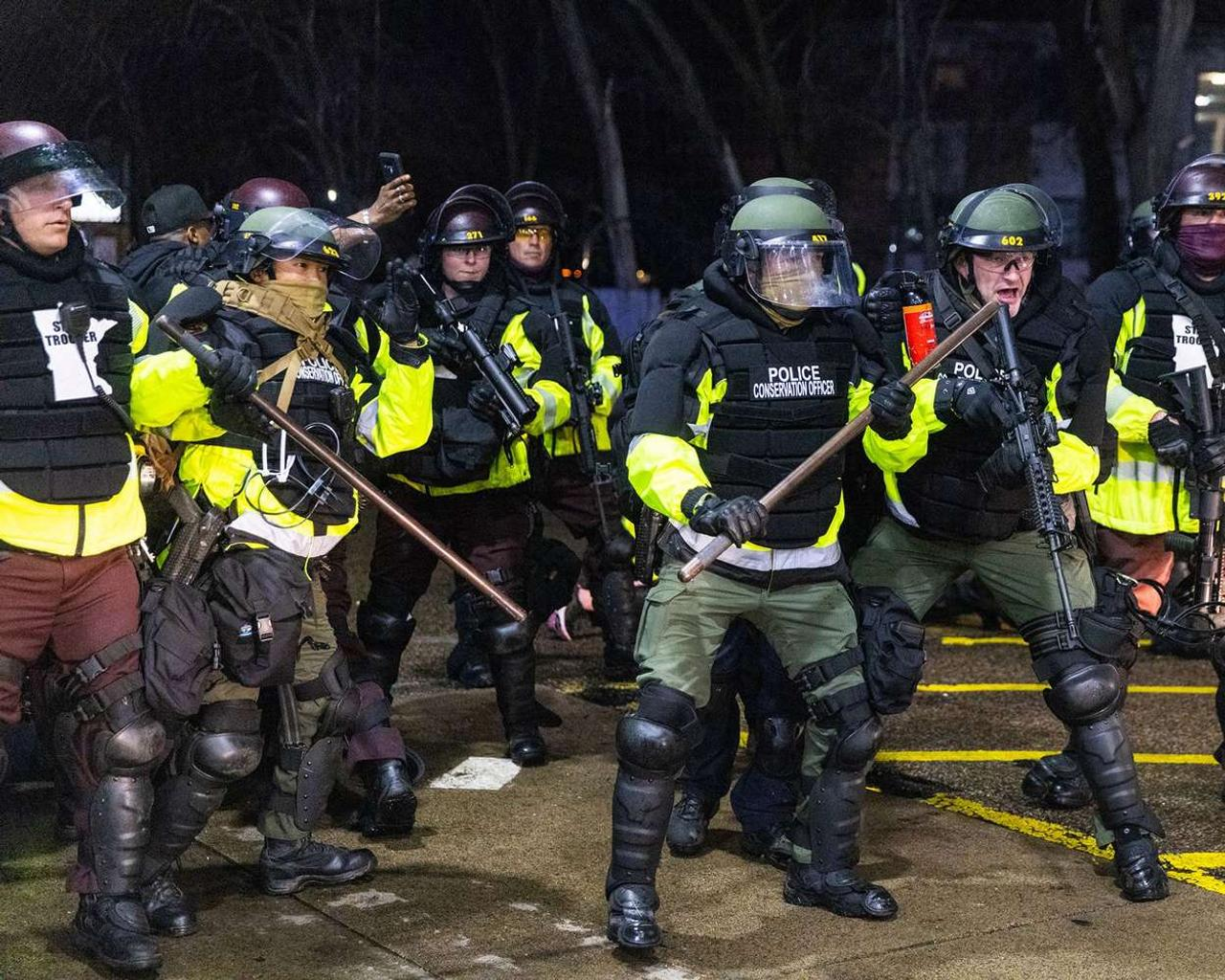 Protests erupt in US cities over police violence as riot declared in Portland