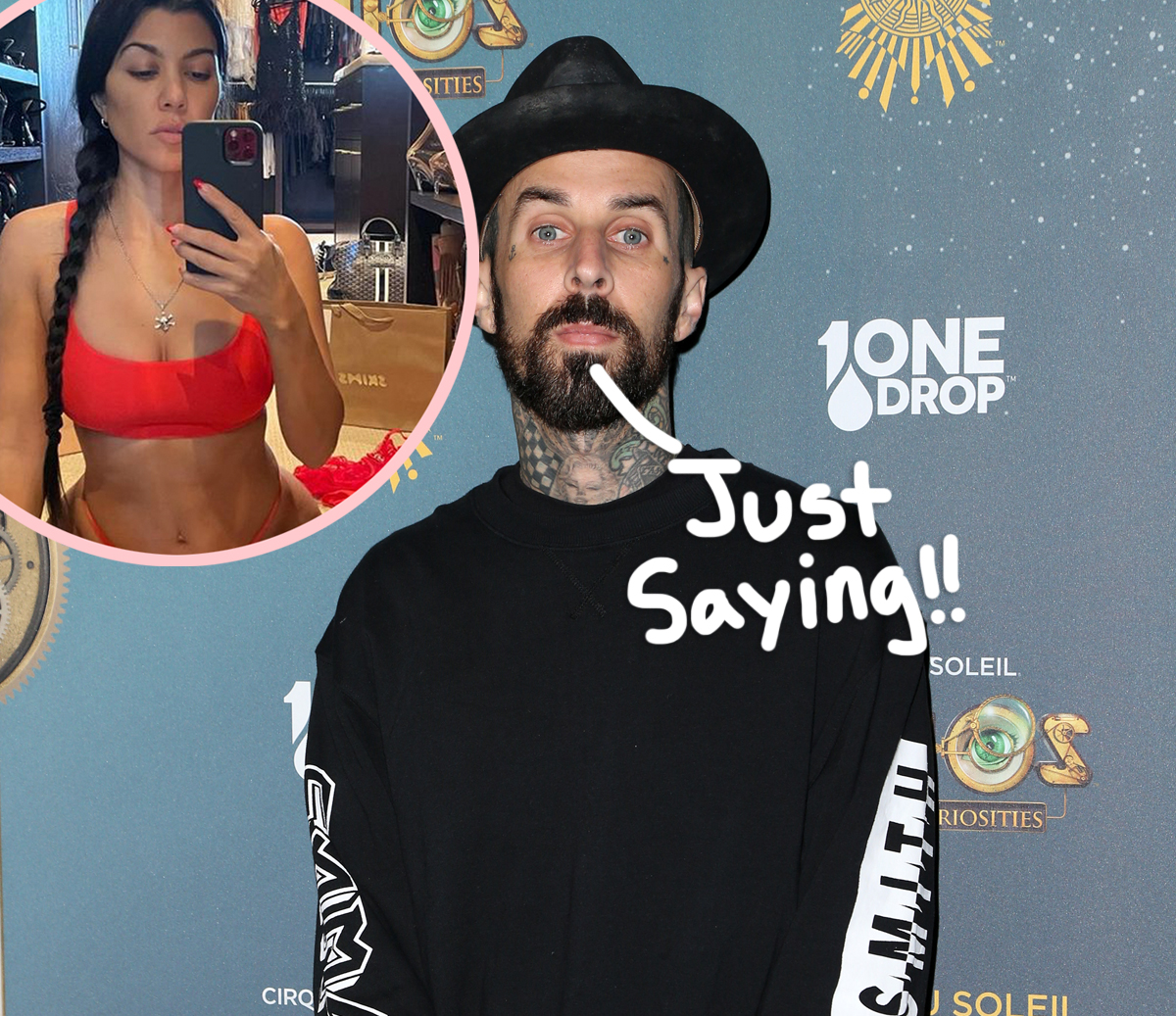 Travis Barker Says He 'Dreams About' Hooking Up With Kourtney Kardashian 'All Day' Long!